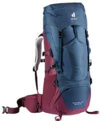 Deuter Aircontact Lite 35+10 ruksak, crveno-plavi