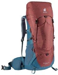 Deuter Aircontact Lite 40+10 ruksak, plavo-smeđi