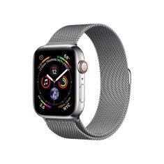 Coteetci Oceľový magnetický remienok pre Apple Watch 38 / 40 mm WH5202-GY, sivý