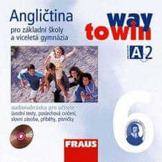 autorů kolektiv: Angličtina 6 pro ZŠ a víceletá gymnázia Way to Win - CD /2ks/ pro učitele