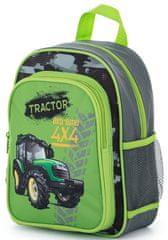 Karton P+P Detský predškolský batoh traktor