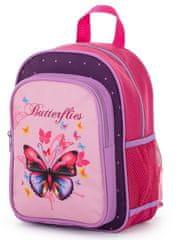 Karton P+P Detský predškolský batoh Motýl