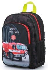 Karton P+P plecak dziecięcy przedszkolny wóz strażacki