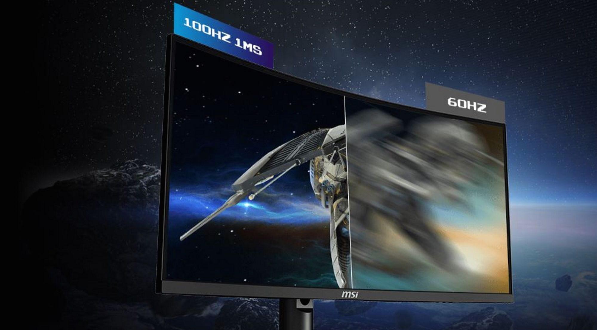 monitor gamingowy MSI Optix MAG272CQR (Optix MAG272CQR) płynny obraz 1 ms 165 Hz