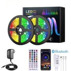 X-Site LED RGB páska DD-005App, SMD2835, 40tlačítek, IP20, 10m