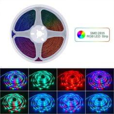 X-Site LED RGB páska DD-002, SMD2835, 44 tlačítek, IP20 10m