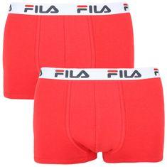 FILA 2PACK pánské boxerky červené (FU5016/2-118)