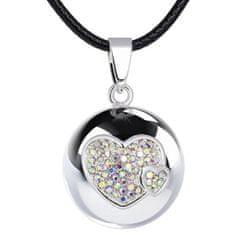 MummyBell Dámský náhrdelník Rolnička Hearts BH20