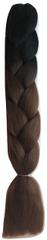Vipbejba Lasni podaljški za pletenje kitk, B29 black&choco