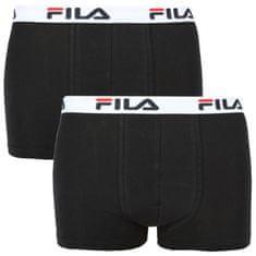 FILA 2PACK pánské boxerky černé (FU5016/2-200)