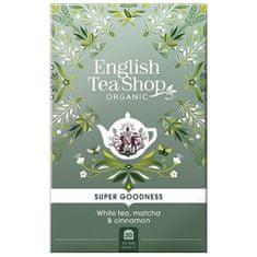English Tea Shop Biely čaj, Matcha a škorice 20 sáčkov