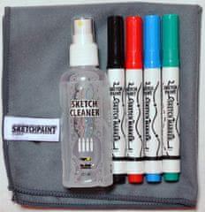 MagPaint SketchKit, set izdelkov za uporabo na piši briši površinah