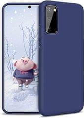 Goospery maskica za Samsung Galaxy A71, silikonska, tamno plava