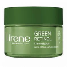 Lirene Noční zpevňující krém pro zralou pleť Green Retinol 50 ml