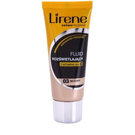 Lirene Bőrvilágosító fluid smink 30 ml (Árnyék 04)