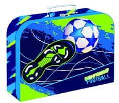 Karton P+P aktovka laminirana OXY Style Mini football blue, 34 cm