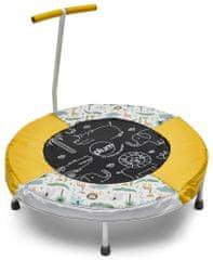 PLUM Trampolina dla dzieci z dźwiękami dżungli