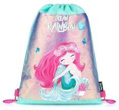 Karton P+P torba za telovadbo Ocean rainbow