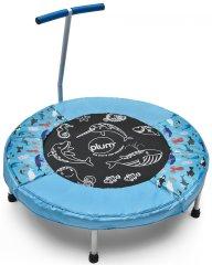 PLUM Trampolina dla dzieci z dźwiękami oceanu