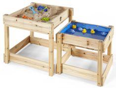 PLUM stoliki drewniane do zabawy 2w1