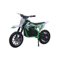 Leramotors Minicross Leramotors Devil Deluxe 800W/36V zelená