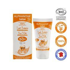 Alphanova Opaľovací krém pre bábätká SPF 50+ BIO 50 ml