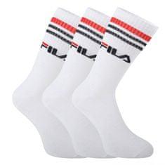 FILA 3PACK ponožky bílé (F9090-300)