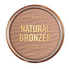 Rimmel Bronzující pudr Bronzer Natural (Ultra-Fine Bronzing Powder) 14 g
