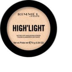 Rimmel Bőrvilágosító High´light (Buttery Soft Highlighting Powder) 8 g
