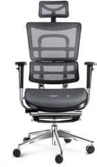 Diablo Chairs V-Master, černá/šedá (5902560334494)