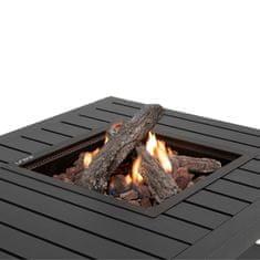 COSI Stůl s plynovým ohništěm COSI- typ Cosiflow square