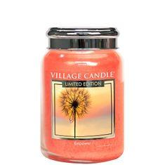 Village Candle Dišeča sveča v steklu Empower Limited Edition 602 g