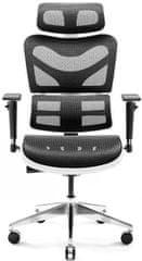 Diablo Chairs V-Commander, černá/bílá (5902560338140)