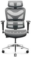 Diablo Chairs V-Commander, černá/šedá (5902560338157)