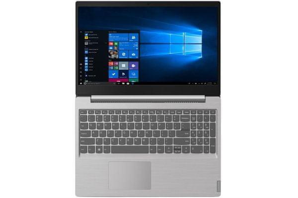 univerzální notebook lenovo s145 rychlý chod wifi Bluetooth rychlé připojení nízká hmotnost elegantní provedení snadno přenosný ostrý obraz kvalitní displej skvělý zvuk dolby audio
