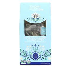 English Tea Shop Bílý čaj, borůvka a bezinka 15 pyramidek sypaného čaje