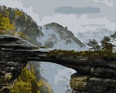 Kouzelný Art Malování podle čísel Pravčická brána