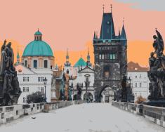 Kouzelný Art Malování podle čísel Karlův most