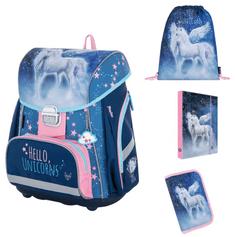 Karton P+P šolski komplet PREMIUM Unicorn 1