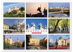 tvorme pohľadnica Bratislava b35