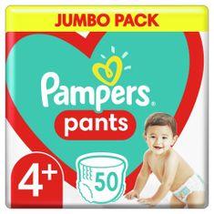 Pampers Pants Maxi+ (4+) (9-15 kg) Jumbo Pack - nadrágpelenka 50 db