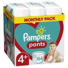 Pampers Pants Maxi+ vel. 4+ (164 kom) - pelene-gaćice (9-15 kg) – Mjesečni paket