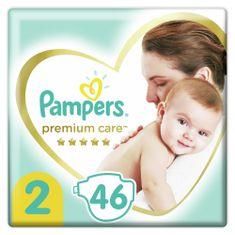 Pampers Premium Care Pelenka, 2-es méret, 46 db, 4-8kg