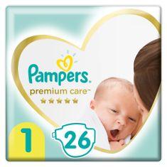 Pampers Premium Care 1 Újszülött pelenka (2-5 kg) 26 db