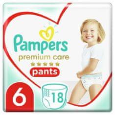 Pampers Premium Pants 6 (15+ kg) 18 db