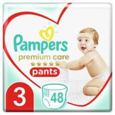 Pampers Nadrágpelenkák Premium care Pants 3 (6-11 kg) Midi 48 db.