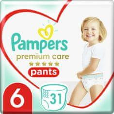 Pampers Nadrágpelenka Premium Care Pants 6 (15+ kg) 31 db.