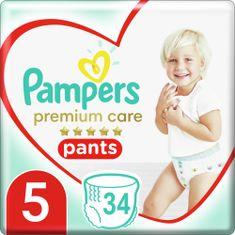 Pampers pelene Premium Care Pants 5 (12-17 kg) Junior 34 kom