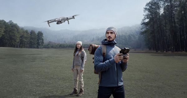 DJI Mavic Air 2 drón, videók vágása, összetettebb felvételek, alkalmazások