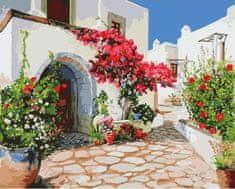 Kouzelný Art Malování podle čísel Procházka Řeckem